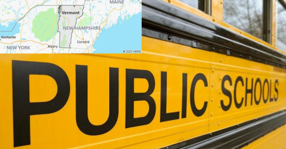 Vermont Public Schools by County