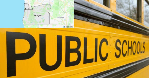 Oregon Public Schools by County